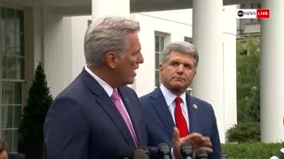 Kevin McCarthy rips Nancy Pelosi for storming out of WH meeting