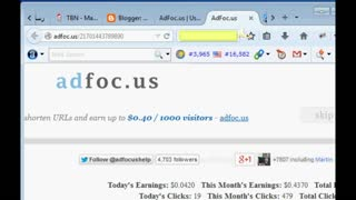 Earn money adfoc.us - Video