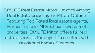 Real estate agent Milton - Video
