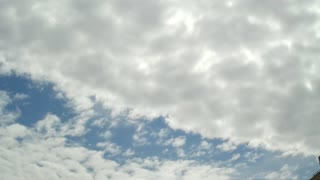 Altocumulus clouds timelapse - Video