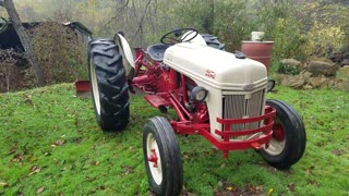 1951 8N Ford Tractor walk around.