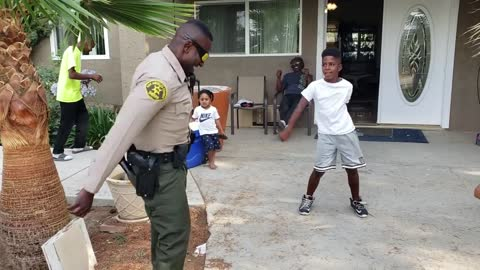 LASD SHARE Deputy Challenged To A Dance-Off After False 911 Call