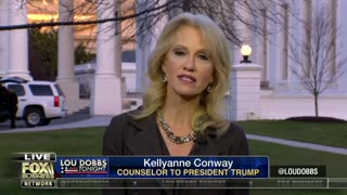Dobbs To Conway — Trump Elected Because He Wasn't Guy Who Said Just Wait, Supporters Want A Wall! - Video