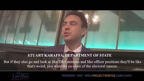 Project Veritas video exposes Dem Socialist 'resisisting' on at work as Fed employee