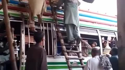 A brave and talented man picked up a bike
