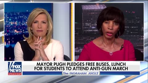 Laura Ingraham's On-Air Exchange With Dem Baltimore Mayor Boils Over: 'Get Your Facts Straight'