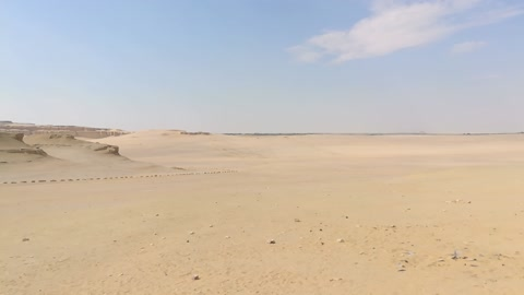 Morning Nature Desert In Wadi El Rayan