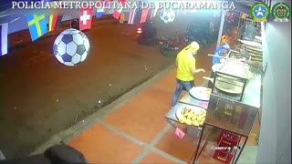 Video: capturados por un hurto cometido en el barrio Kennedy, en Bucaramanga