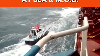 Ship Pilot Compilation - Transfers At Sea - Pilot Boat & Ladder