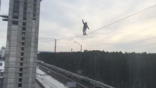 How Does a Tightrope Walker Warm Up? - Video
