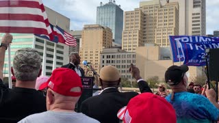 """Allen West, Dallas """"Stop the Steal"""" rally, part 1 of 2"""