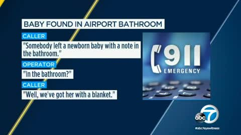 Woman with Neck Pillow and Blanket in Airport Might Have Been Hiding the Baby She Abandoned