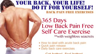 Hot & Cold Pad for Low Back Pain by AyaCise No.3  - Video