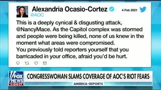 Congresswoman Calls Out AOC for Lying About the Capitol Hill Riots