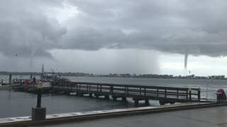 Waterspout over Florida Waters - Video