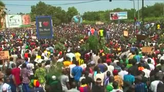 Protesters denounce coup in Burkina Faso - Video