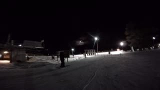 Full Moon Night Skiing