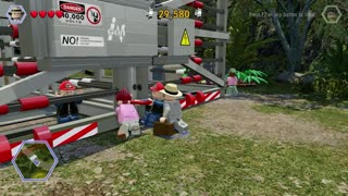 LEGO: Jurassic World walkthrough part 2