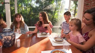 Supermom Juggles Life With Sixteen Children And Household Chores