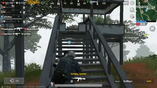 Using AKM To Clear Out Area