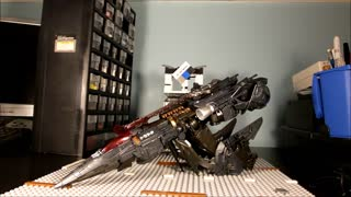 CiiC HIDDEN Transformation of TF5 TLK OS Leader Class Megatron - Video