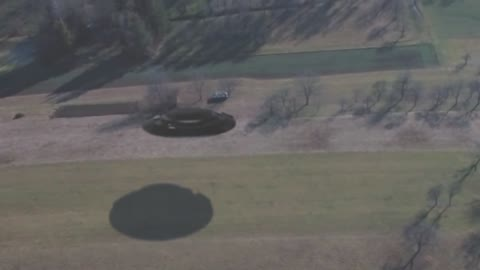 UFO Caught From Helicopter Over Montana