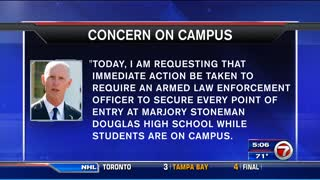 Stoneman Douglas students arrested for weapons - Video