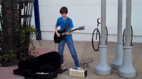 11-year-old kid shreds 'Free Bird' solo by Lynyrd Skynyrd