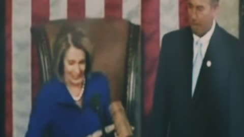 Nancy Gets Whacked by John Boehner