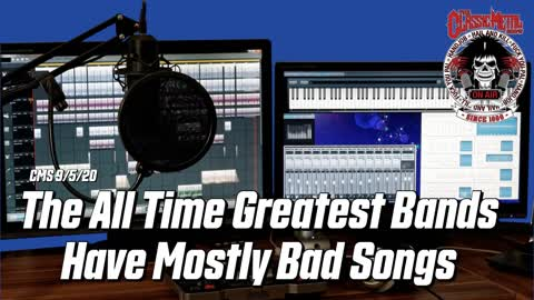 The All Time Greatest Bands Have Mostly Bad Songs
