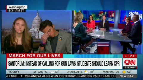 CNN Host Asks David Hogg: Do You Think Your NRA Comments are Polarizing?