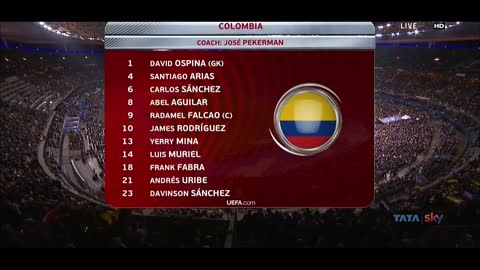 23-03-2018 - France 2-3 Colombia (FRIENDLY)