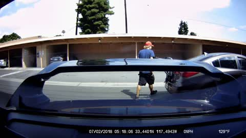 Thief Takes Tools and Car Parts From Carport Storage