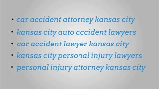 kansas city personal injury lawyers - Video