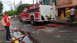 Incenido se registró en Barranca - Video