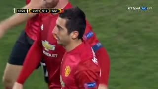 Mkhitaryan superb solo goal vs Zorya - Video