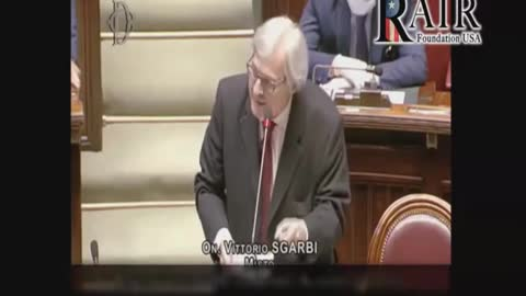 Italian Member of Parliament Exposes Covid-19 Deaths As A Lie