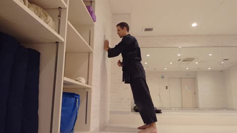 Wall Exercises Ideas For Karate