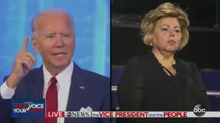 Joe Biden says police should shoot people in the leg during confrontations