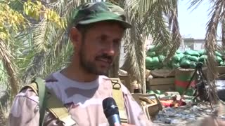 Iraqi Shi'ite militia report advances against IS in Anbar - Video