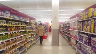 Supermarket Scrabble - Video