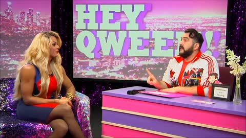RuPaul's Drag Race Winner Tyra Sanchez on Hey Qween! SEASON 3 FINALE With Jonny McGovern