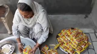 100 Maggi Noodles Cooking By My Granny | MAGGI RECIPE prepared for Kids | maggi noodles street style