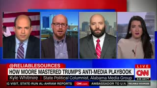 Alabama Radio Host Rips Into CNN - Explains Why People Don't Trust Them Right to Their Face - Video