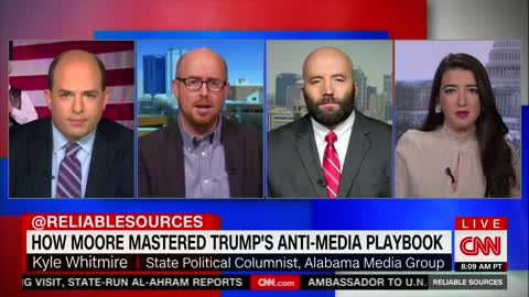 Alabama Radio Host Rips Into CNN - Explains Why People Don't Trust Them Right to Their Face