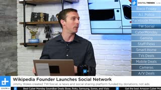 Wikipedia Founder Launches Social Network | Digital Trends Live 12.2.19