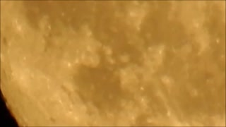 99.5%  Full Moon with P900 - Video