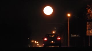 Harvest Moon down Main St. Grunthal Manitoba - Video