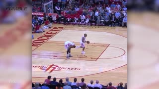 Josh Smith Gets Poked in the Eye, Teammate Inbounds off His Ass - Video