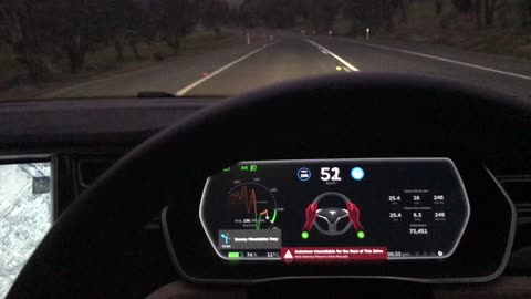 Should Anything Happen To You, Tesla Autopilot Will Stop Your Car In The Middle Of The Road